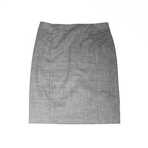 Grey NY&Co Pencil Skirt